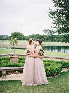 Dusky Pink Bridesmaids