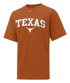 Texas Longhorns Short Sleeve Embroidered Tee By Nike $30.00