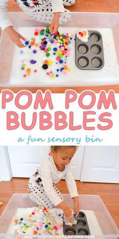 Pom Pom Bubbles – HAPPY TODDLER PLAYTIME