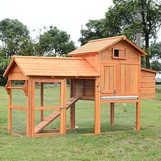Pawhut Backyard Chicken Poultry Outdoor - Chicken coop plans