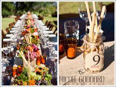Make breadsticks like cannovas Wedding table tops. Italian Wedding Themes, Italian Theme, Italian Party, Italian Style, Wedding Table, Our Wedding, Dream Wedding, Italian Decorations, Family Style Weddings