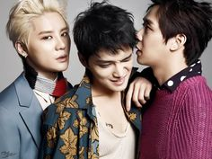 JYJ ♥ JYJ for Marie Claire Korea