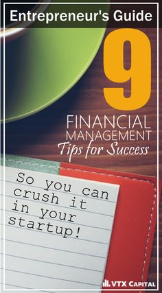 Learning the basics of business and financial management are ESSENTIAL if you want your business to thrive. Whether you're a blogger, a personal trainer with a gym, a chef with a restaurant, or any other type of budding entrepreneur-- these 9 tips can help you.