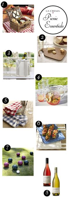 Summertime is the perfect reason to have a lazy picnic full of sunshine, good food, great friends and of course delicious wine. Here are my picks from Pottery Barn that will help you create the perfect picnic.
