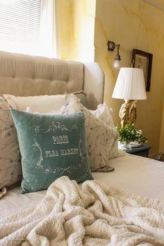 Refreshed Master bedroom decor spring