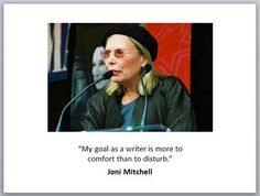 Joni Mitchell Woman Quotes, Musicians, Education, Lady, Women, Quotes By Women, Women's, Music Artists, Educational Illustrations