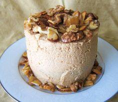 Fragrant Vanilla Cake: almond butter