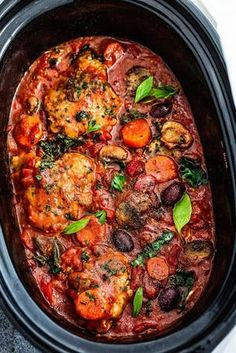 This Slow Cooker Chicken Cacciatore Is Calling Your Name | Kitchn