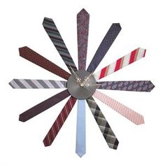tie clock... could be a father's day present