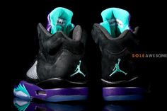 Air Jordan V Black Grape