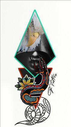 Digital art tattoo #tattoo idea # carlofuertetattoo