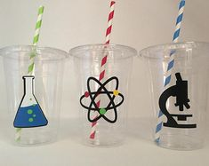 Scientist Party Cups