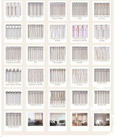 Tipos de cortinas modernas e aconchegantes home - Tipos de cortinas modernas ...