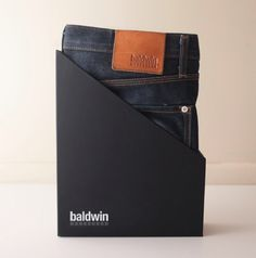 The Henley Jean by Baldwin Denim a new way to advertise jeans.