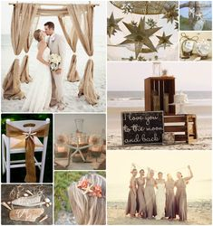 Rustic Beach Wedding
