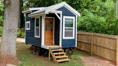 A tiny house built by a teen | Offbeat Home & Life