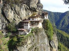 10 real places that look like they belong in fairy tales Taktsang Monastery (Tiger's Nest) Paro, Bhutan
