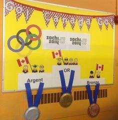 À l'école :Tableau des médailles canadiennes Sochi 2014 Bronze, Canadian Horse, Board