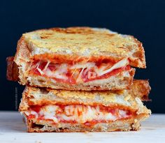 Parmesan Pizza Grilled Cheese | 19 Pizza Creations That Will Change Your Life