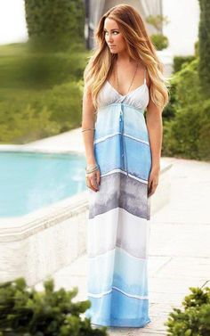 Obsessed with Lauren Conrad's style!  I have this and it's gorgeous but way long on 5 foot 3 me!