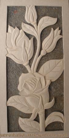 cuadro rosas tallado en madera cuadro rosas tallado en madera mdf de 12mm  densidad 600 tallado a mano,talla