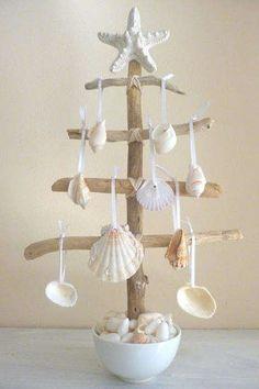 Beachy Mini Christmas Tree