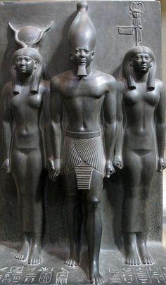 Pharaoh King Menkaure.