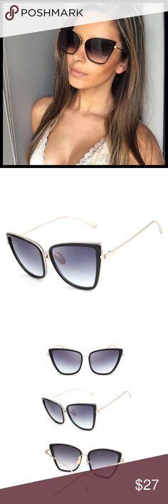 Cat Eye Mirrored Oversized Sunglasses NEW ❌ NO TRADE Entropycat Accessories  Sunglasses Gafas De Sol 1d6d5fb0cfa6