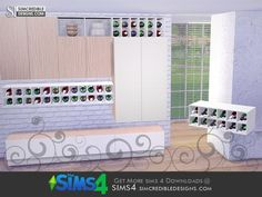 SIMcredible!'s Nuance Cabinet Bottles