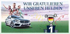Schloz Wöllenstein gratuliert zum 4. Stern und sagt Danke für diese tolle WM 2014!