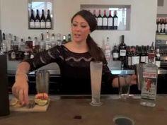 Mistral Signature Cocktail: Lavender Lemonade