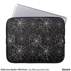 Halloween Spider Web Pattern | Laptop Sleeve Web Patterns, Custom Laptop, Best Laptops, Halloween Spider, Personalized Products, Laptop Sleeves, Wallet, Gifts, Collection