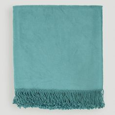 Teal Tatum Throw, World Market. For Mary's Living Room?