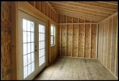 Tiny House for Sale - x Tiny house shell, Studio, Cheap Tiny House, Shed To Tiny House, Tiny House Cabin, Tiny Houses For Sale, Small House Plans, Home Gym Design, Tiny House Design, Little Cottages, Little Houses