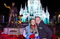 Disney World Christmas Card Photo Locations - for our next trip to Disney World in December 2013!