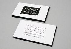 ANTHEM JACKSON PRODUCTIONS, bizcard