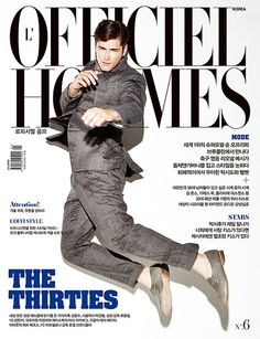 Bringing in the New Year–VNY model Sean O'Pry is captured mid-air for the January 2012 cover of L'Officiel Hommes Korea. American Male Models, Sean O'pry, Cover Boy, Prom Photos, Gianfranco Ferre, Dazed And Confused, Fashion Cover, Magazine Editorial, Belstaff