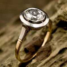 Rose Cut Diamond Ring | New York Vintage & Antique Estate Jewelry – Erstwhile Jewelry Co NY