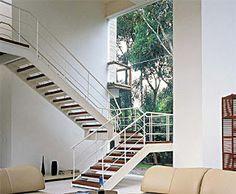 Construção dos Sonhos: 28 modelos de escadas de madeira