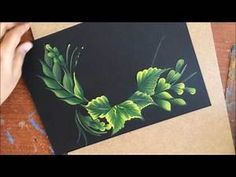 I am level 1 certified One Stroke Painting Artist. This Channel is Dedicated to all sorts of Decorative Painting. One Stroke Painting Technique Material deta. Easy Flower Painting, Acrylic Painting Flowers, Peacock Painting, Acrylic Painting Lessons, Easy Canvas Painting, One Stroke Painting, Acrylic Painting Tutorials, Fabric Painting, Flower Art