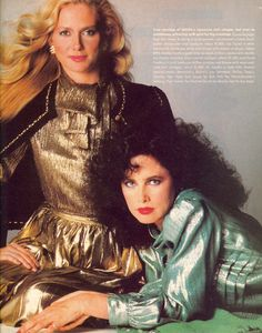 Shelly Smith and Dayle Haddon