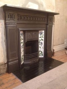 Another stunning original feature being put back into somebody's home. Stunning victorian cast iron surround complete with original cast iron insert and finished off with a set of reproduction tiles to brighten it up. Plenty more to choose from on our website. London fitting available.