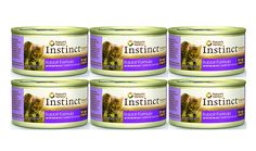 Nature's Variety Instinct 95% Grain-Free Rabbit Formula Canned Cat Food 3 oz x 6 cans -- You can get additional details at the image link. (This is an affiliate link) #CatFood