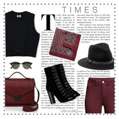 """""""Tic-Tok-Times"""" by instanat ❤ liked on Polyvore featuring Sole Society, Barbara Bui, Loeffler Randall, Massimo Alba and Ray-Ban"""