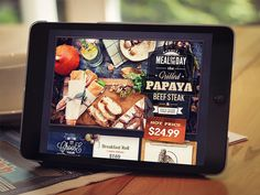 Dribbble - Restaurant by Mike | Creative Mints