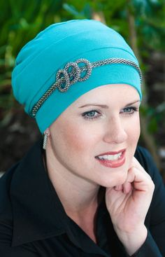 headbands to embellish turbans, headscarves  or tichels.