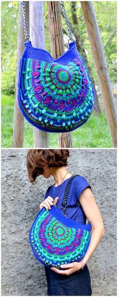 50 Classic Yet Simple DIY Crochet Ideas For You - Diy Rustics Unique Crochet, Modern Crochet, Beautiful Crochet, Easy Crochet, Free Crochet, Diy Crochet Projects, Crochet Crafts, Crochet Yarn, Crochet Stitches