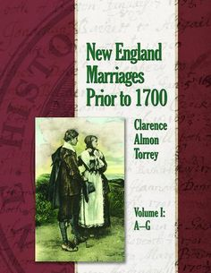New England Marriages Prior to 1700 – AmericanAncestors.org