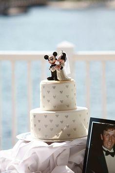 Disney Wedding Cake!