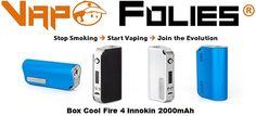 #Box 40 watts #Innokin #Cool Fire IV #2000mAh – 35,39 €